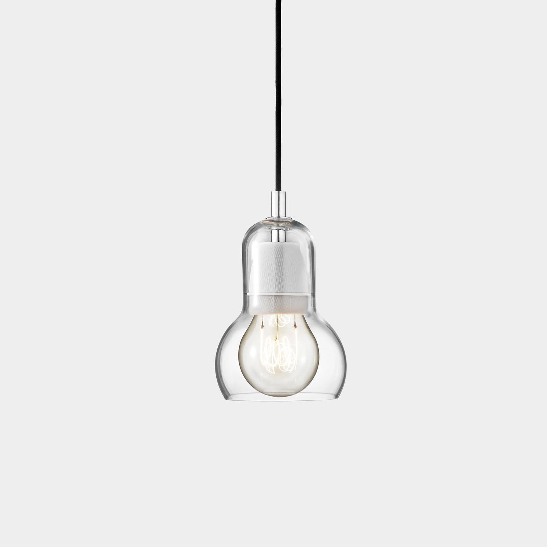 Bulb Pendant, Black Cord