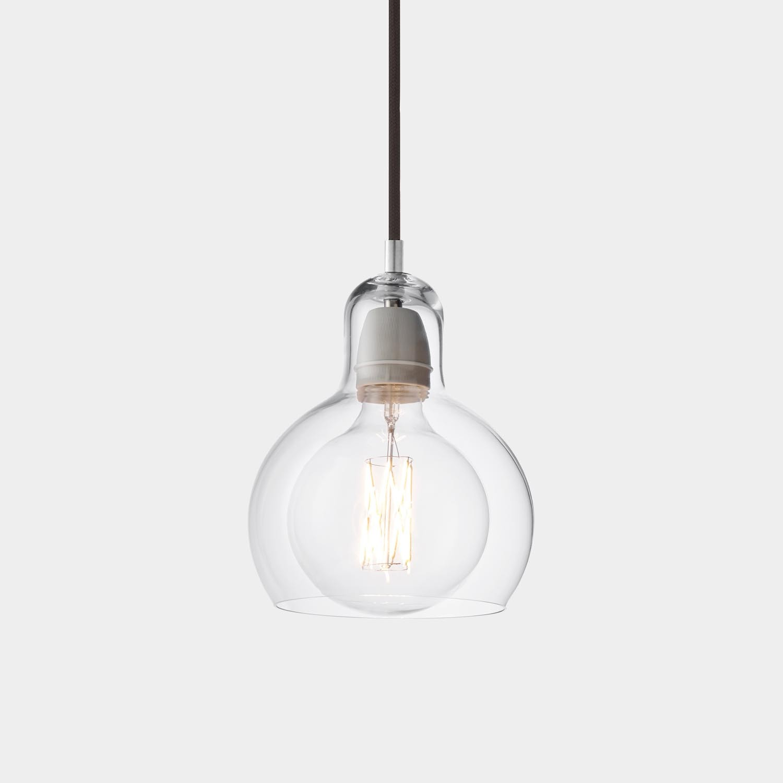 Mega Bulb Pendant, Black Cord