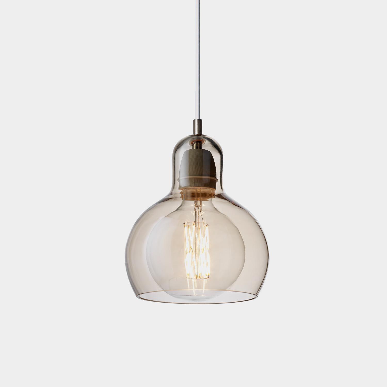 Mega Bulb Pendant, Gold Lustre