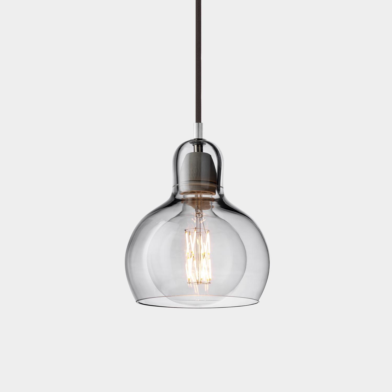 Mega Bulb Pendant SR2, Silver Lustre