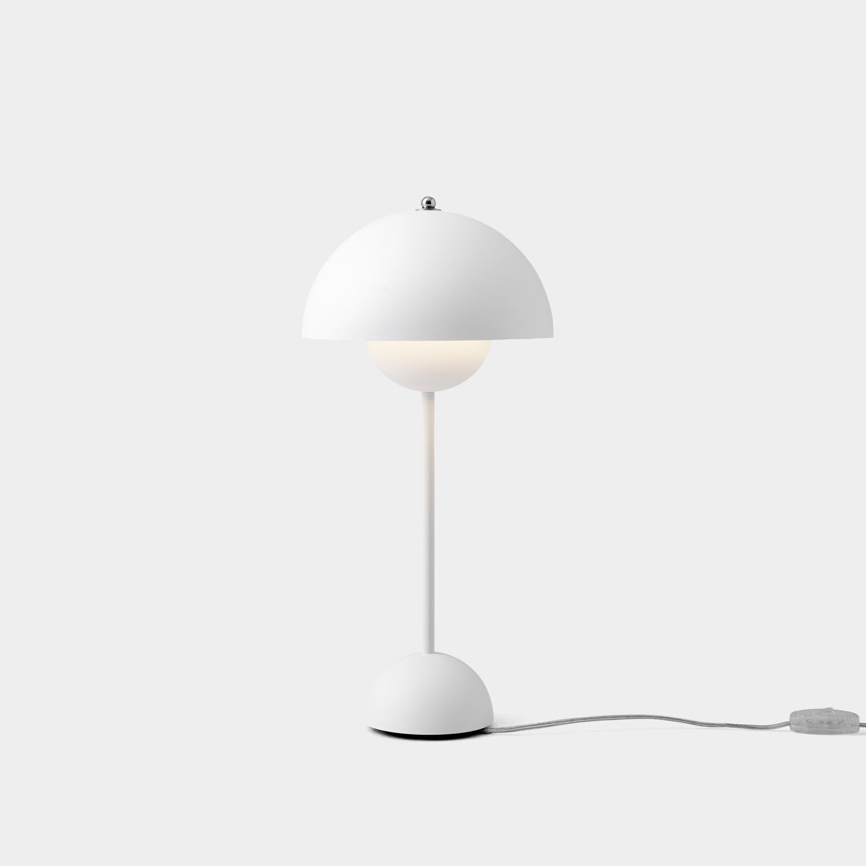 FlowerPot Table Lamp VP3, Matte White