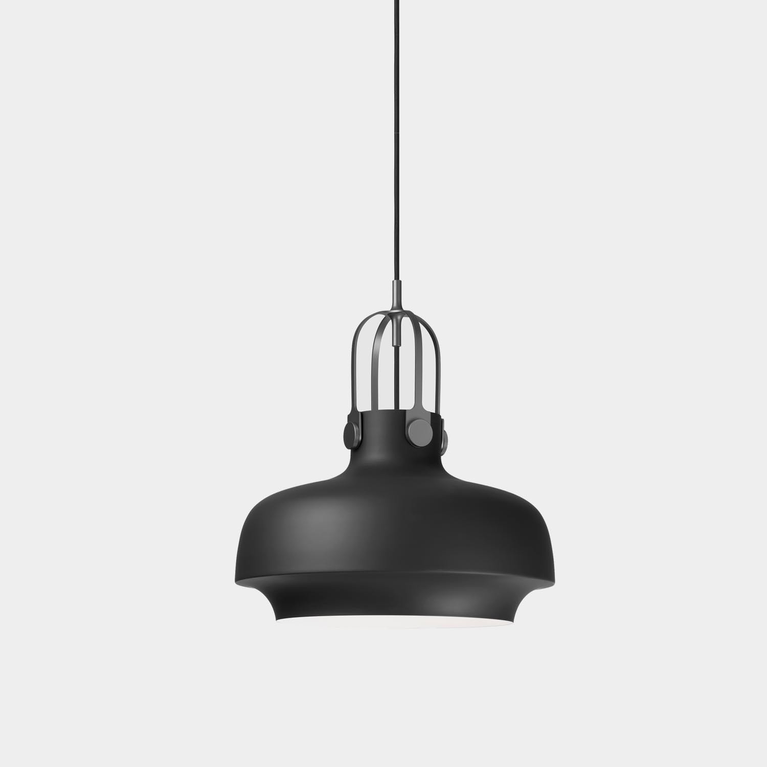 Copenhagen Pendant, Medium, Matte Black