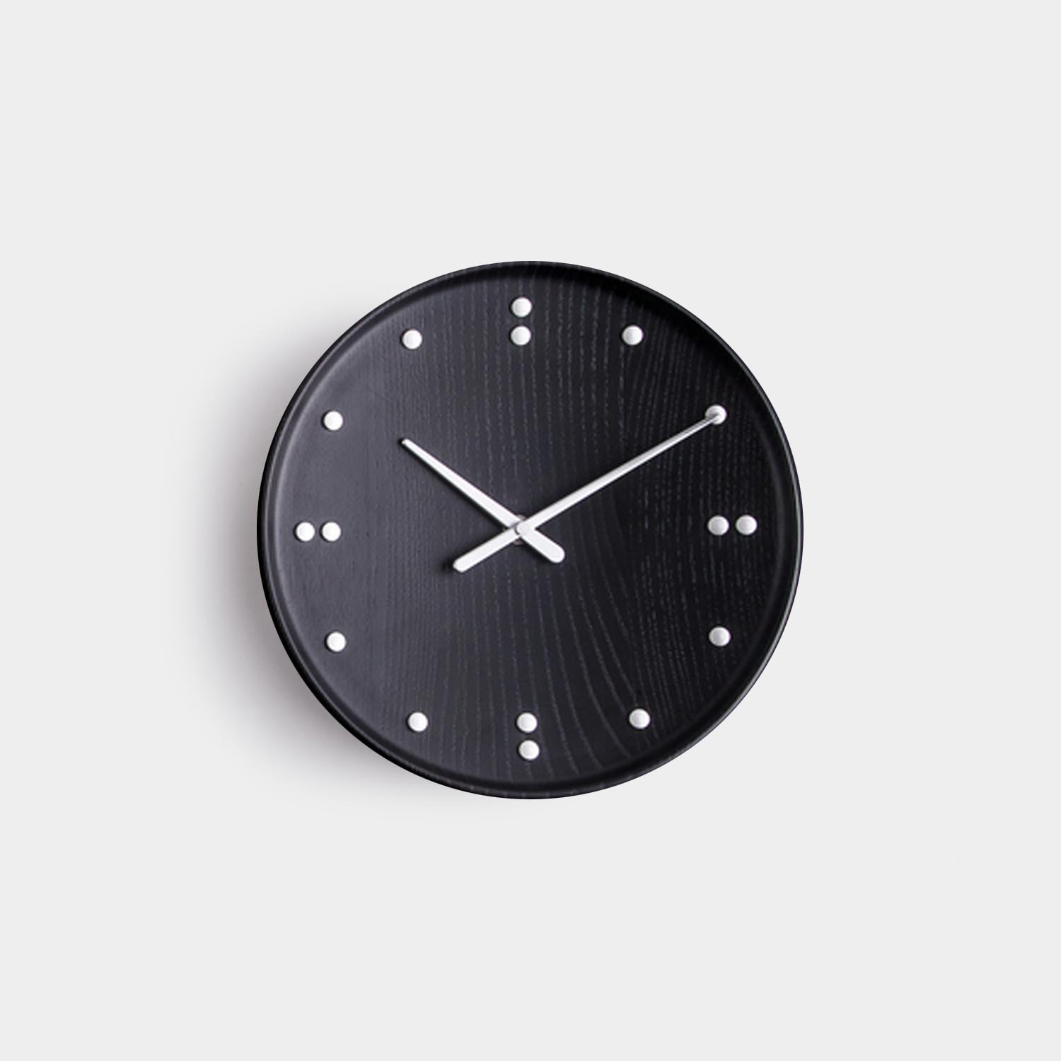 FJ Clock, Black, small