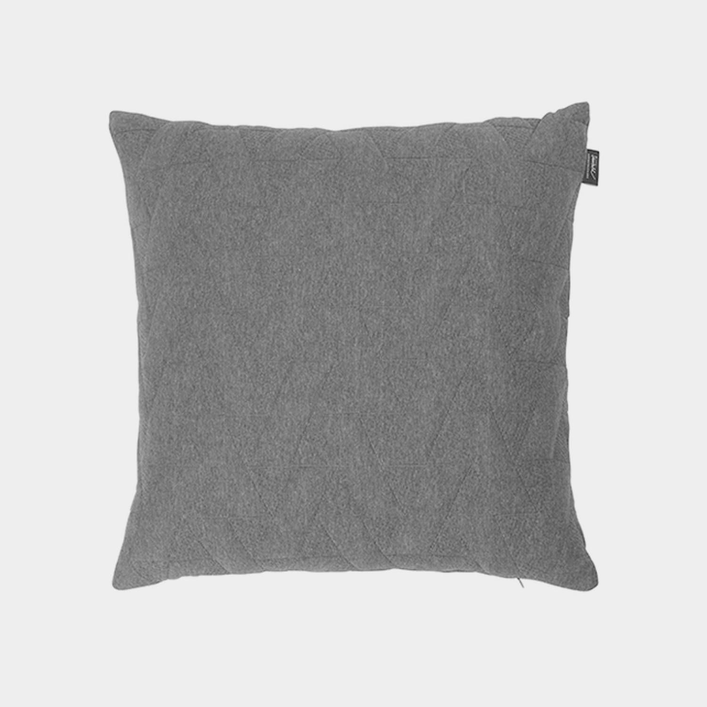 FJ Pattern Square Cushion, Gray