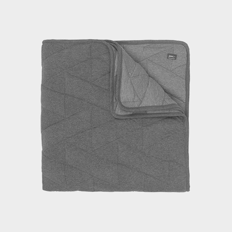 FJ Pattern Bedspread, Gray