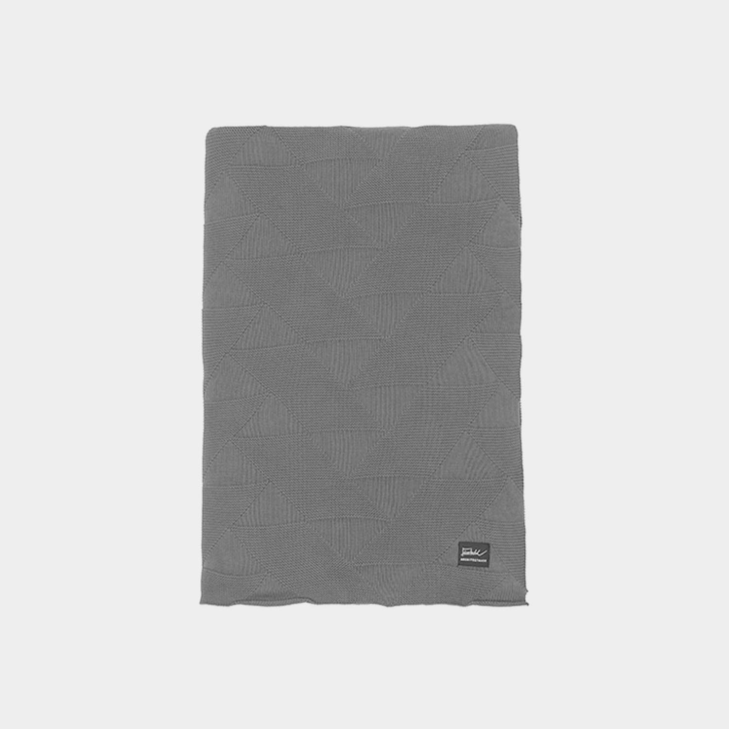 FJ Pattern Blanket, Gray