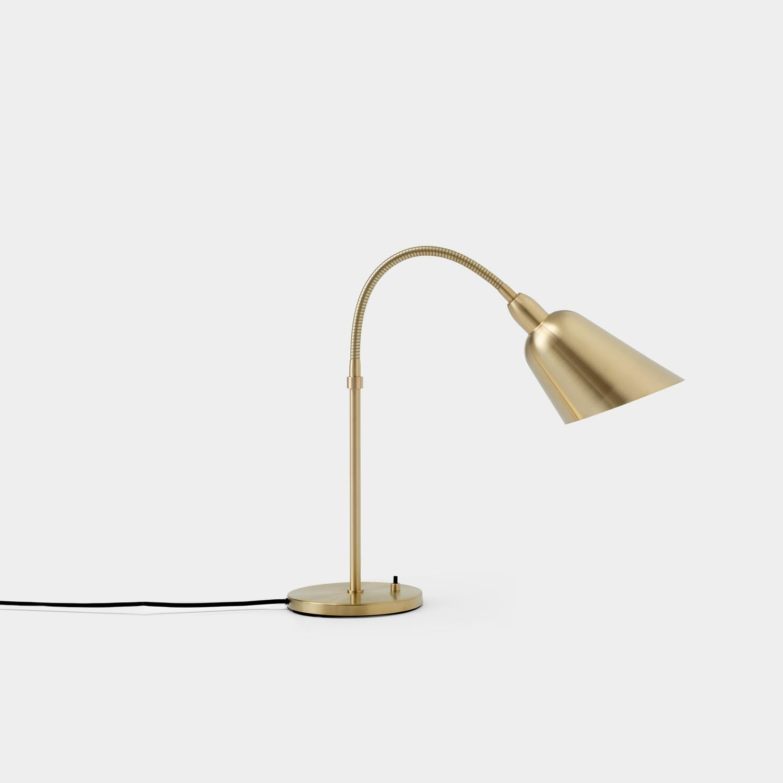 Bellevue Table Lamp, Brass