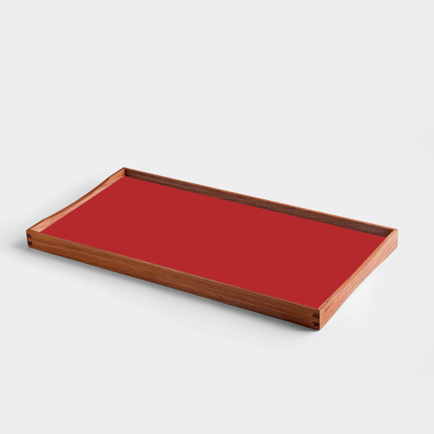 Turning Tray Black & Kimono Red