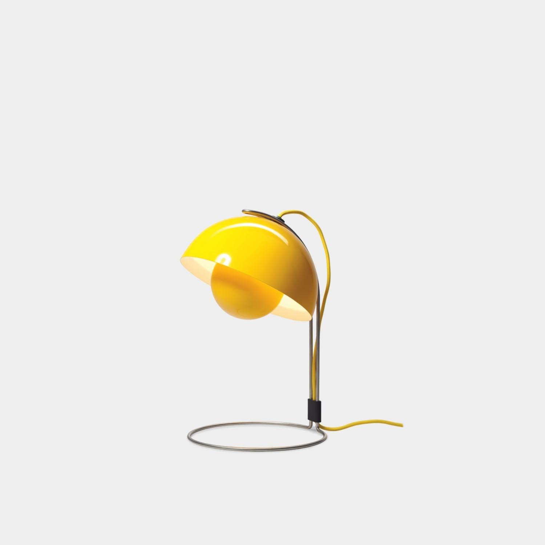 FlowerPot VP4 Lamp, Yellow