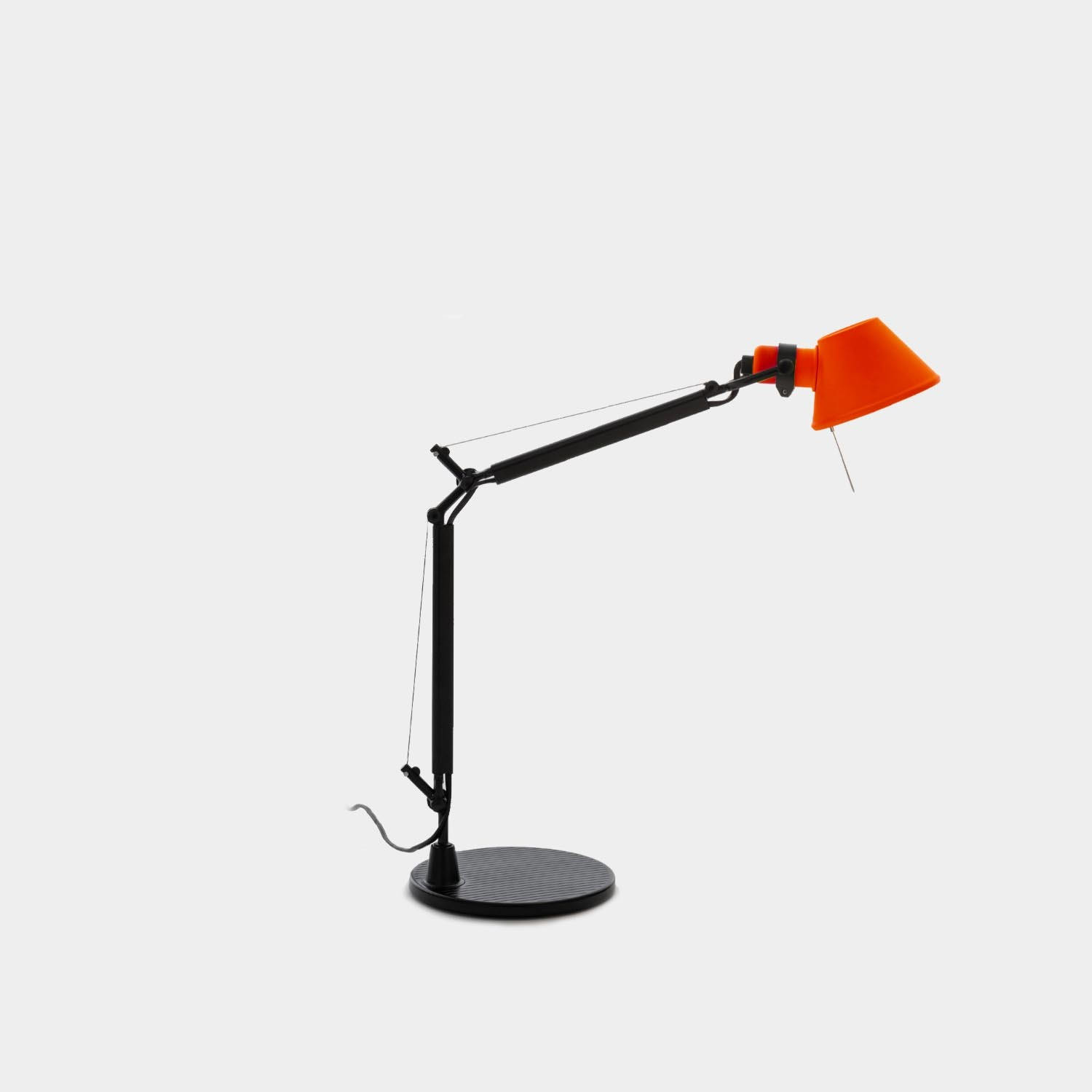 Table Lamp Tolomeo Micro, Black & Red