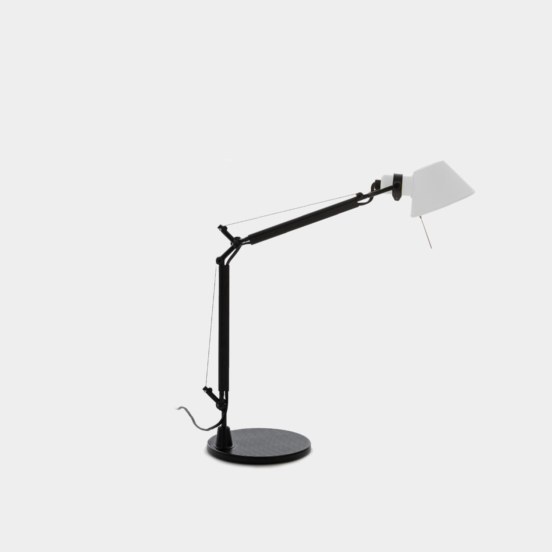 Table Lamp Tolomeo Micro, Black & White