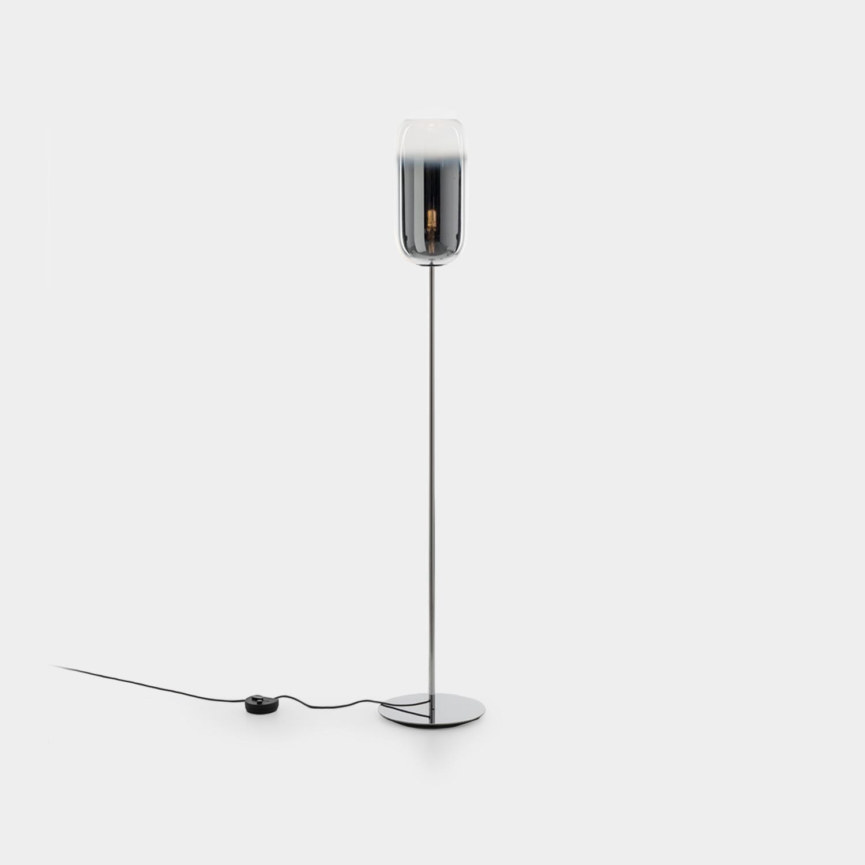 Floor Lamp Gople, Silver