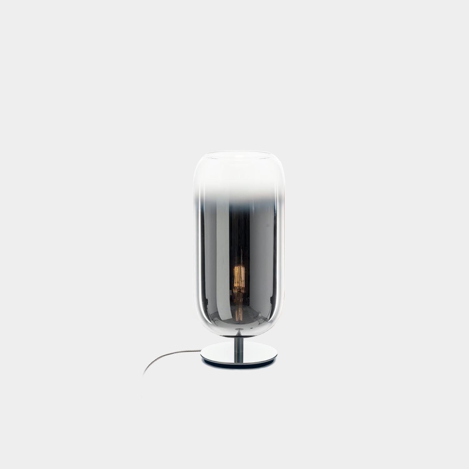 Table Lamp Gople, Silver