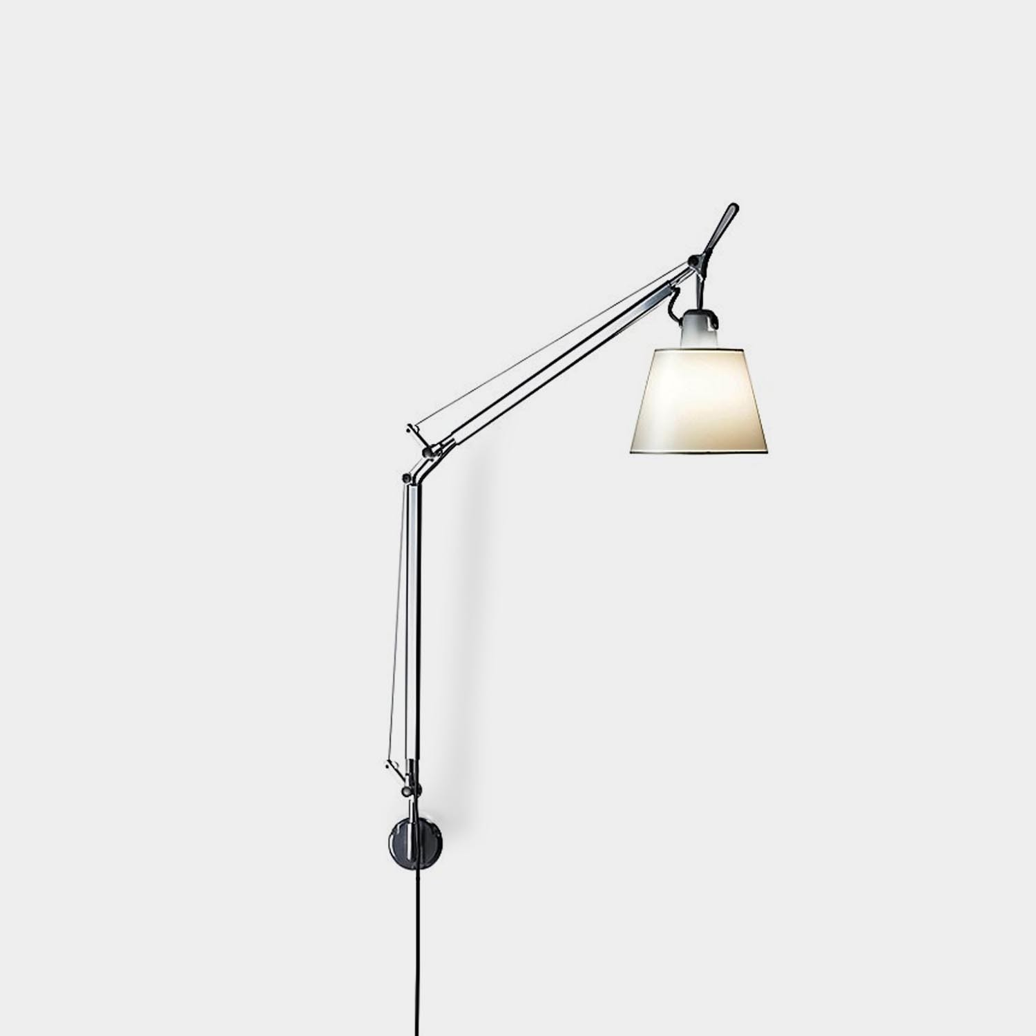 Wall Lamp Tolomeo Articulated with Shade