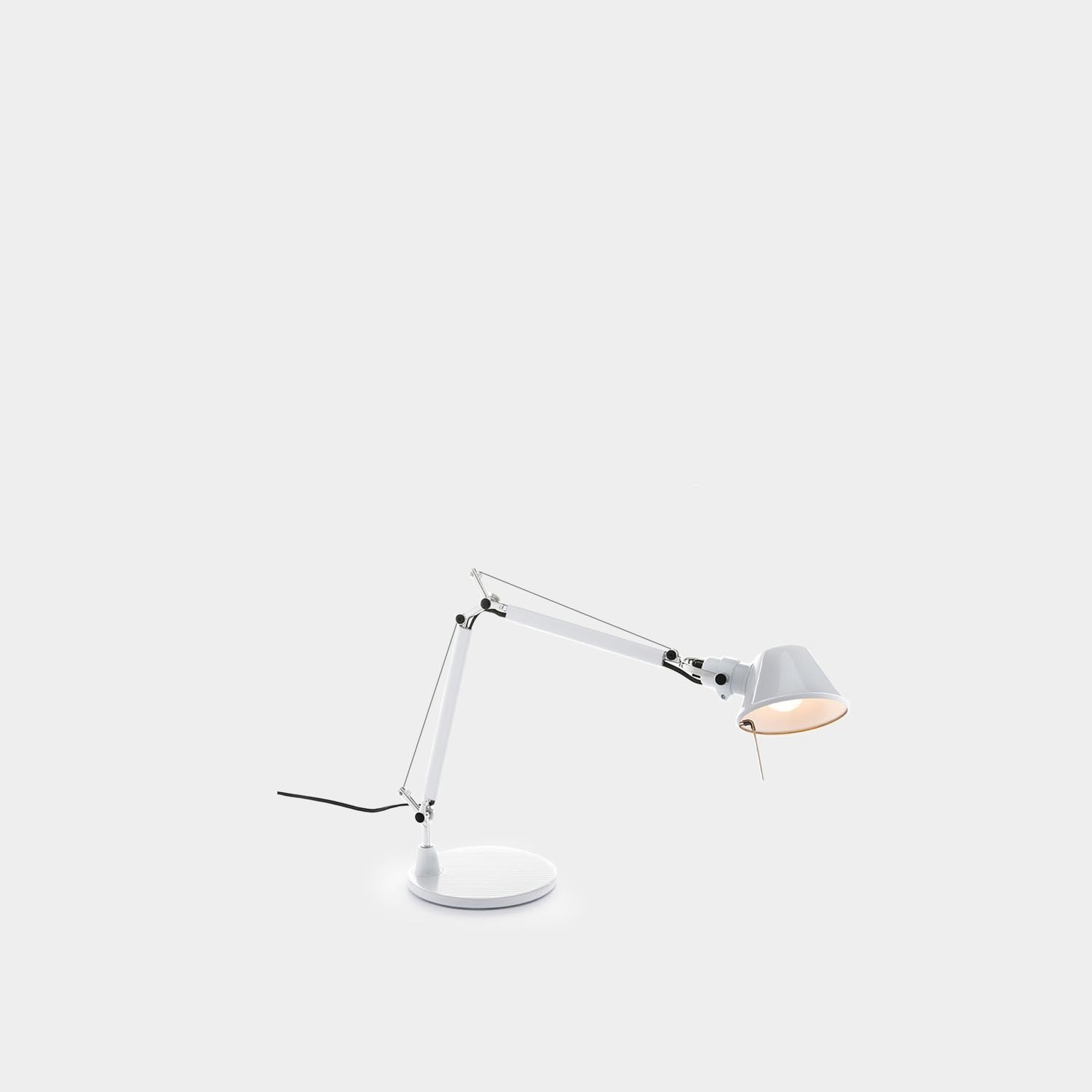 Table Lamp Tolomeo Micro, Glossy White