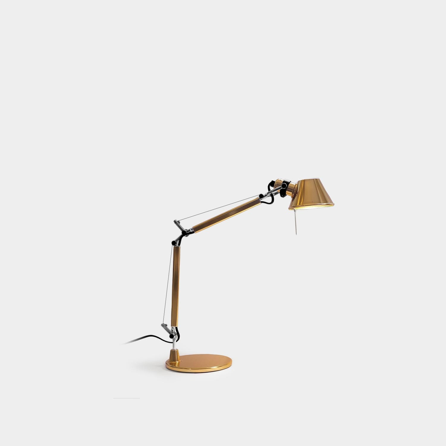 Table Lamp Tolomeo Micro, Gold