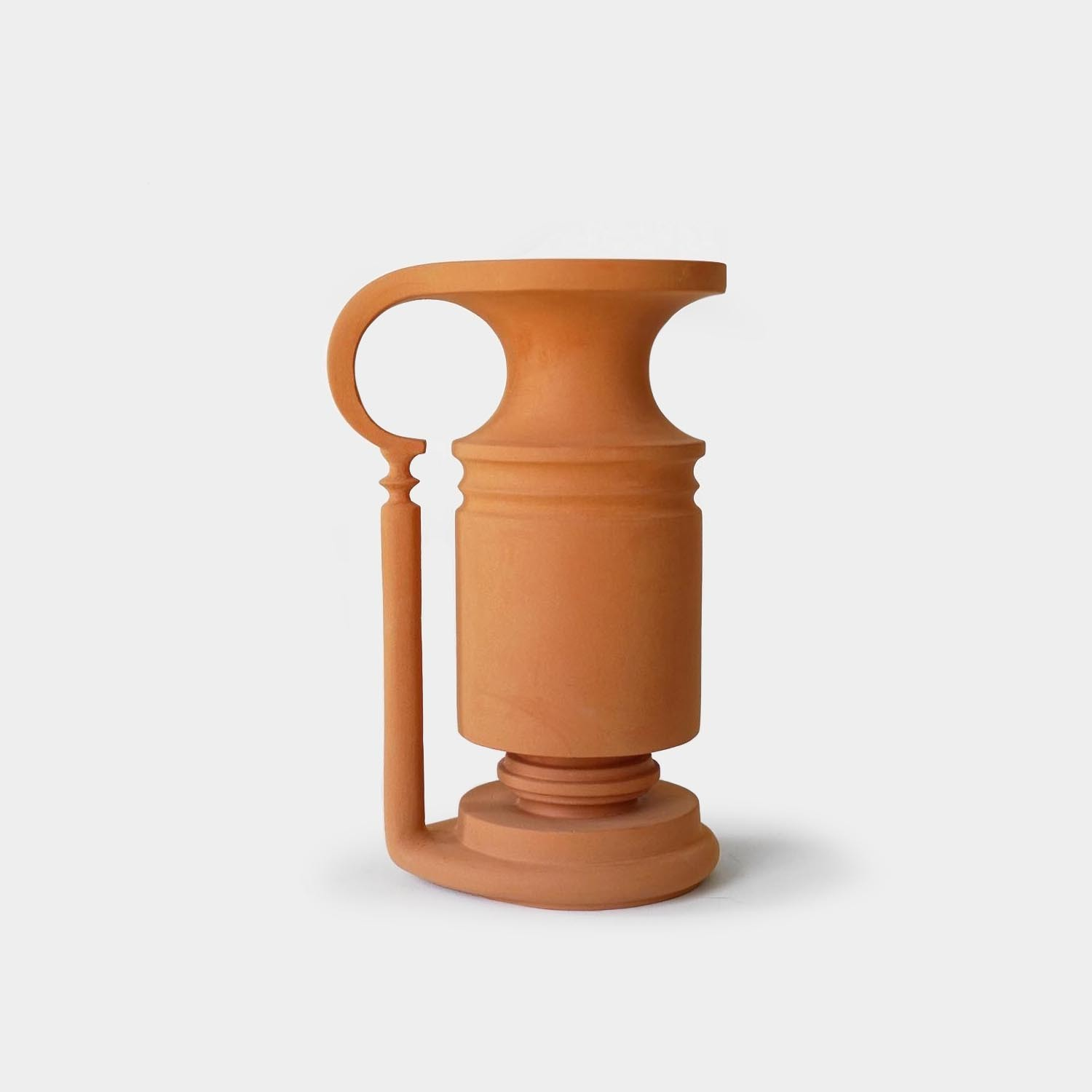 Ancient Key Vase, Terracotta