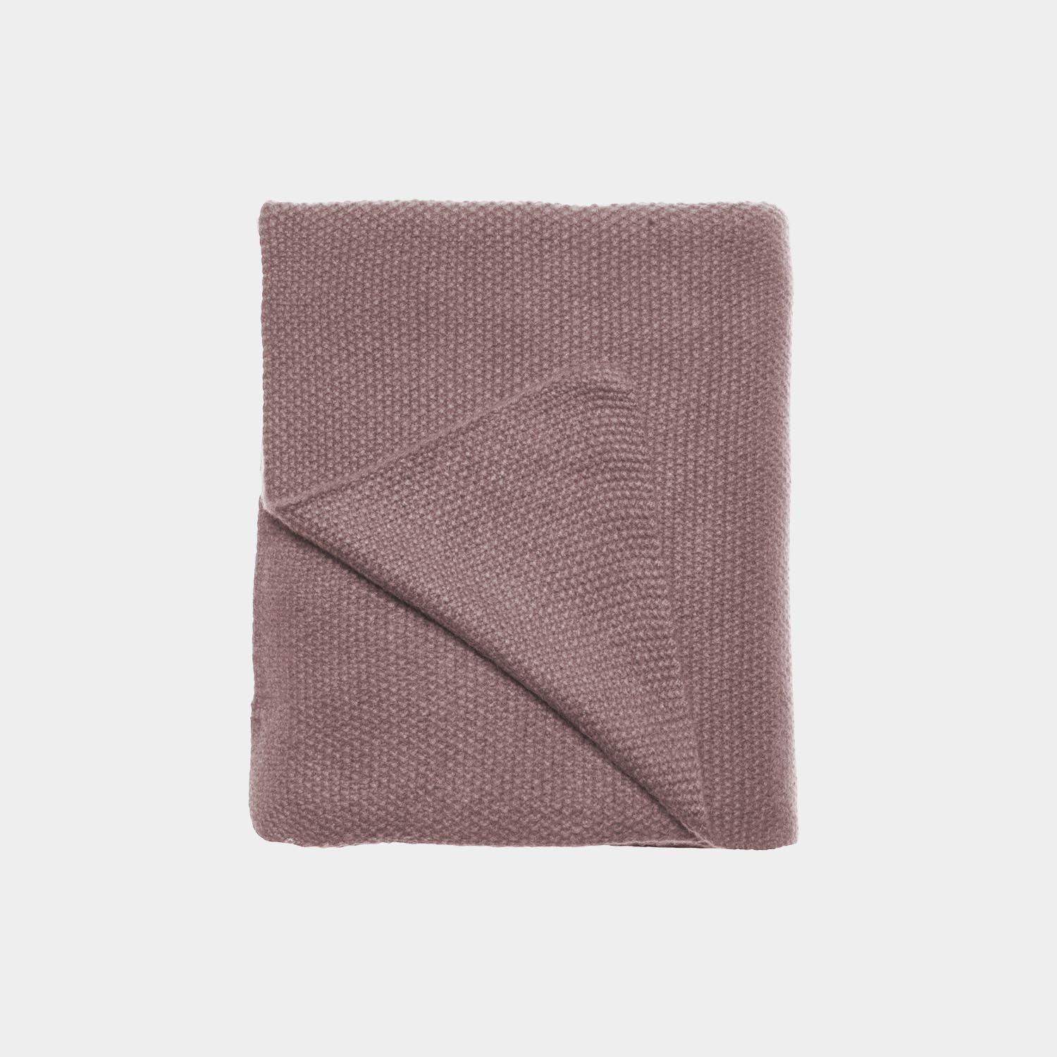 Freja Throw, Romance Pink