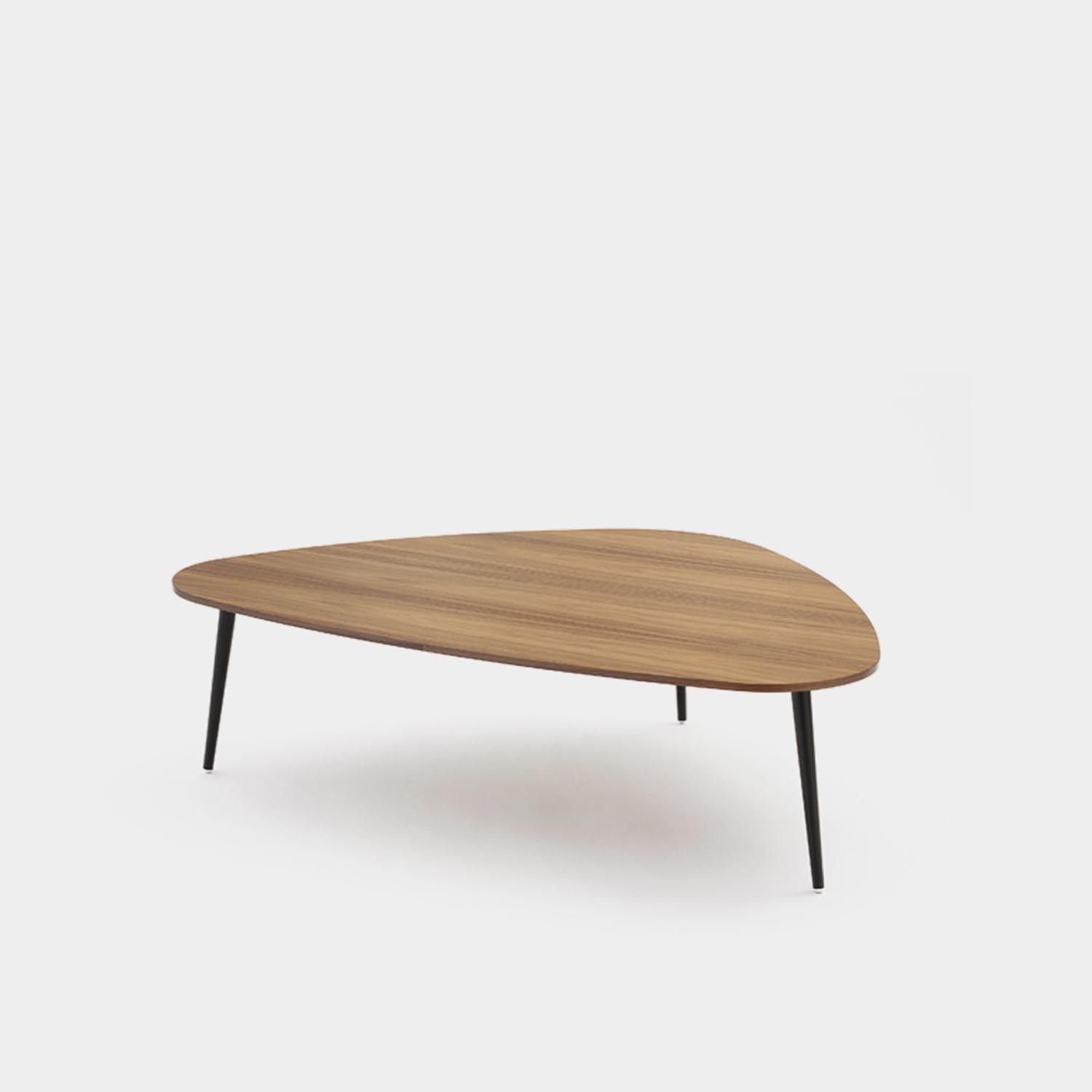 Triangular Coffee Table SOHO, Walnut