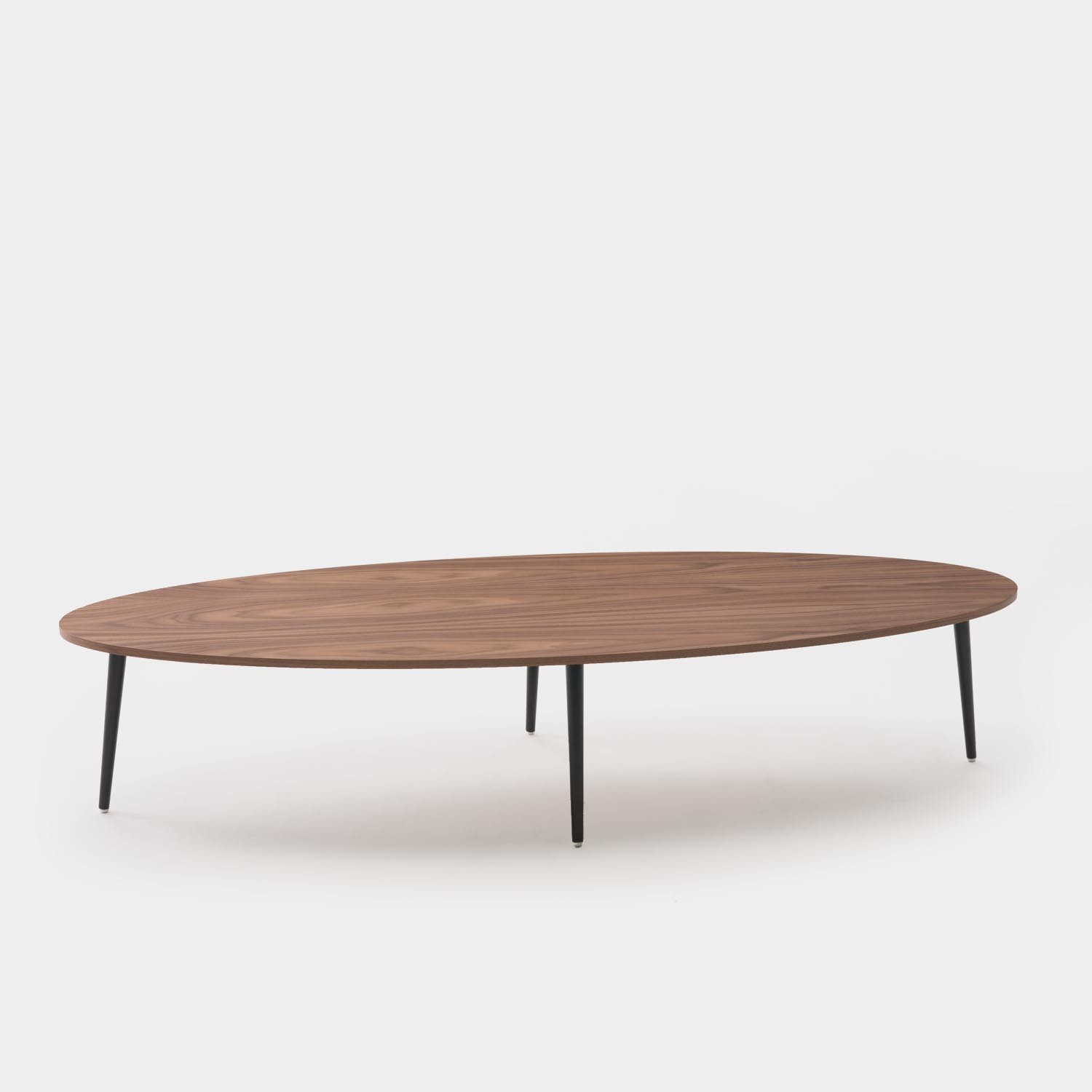 Oval Coffee Table SOHO, Walnut