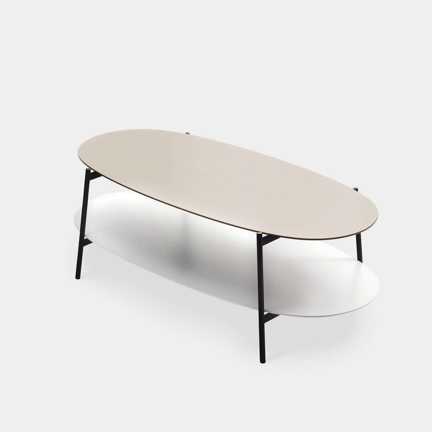 Coffee Table SHIKA, Black Base