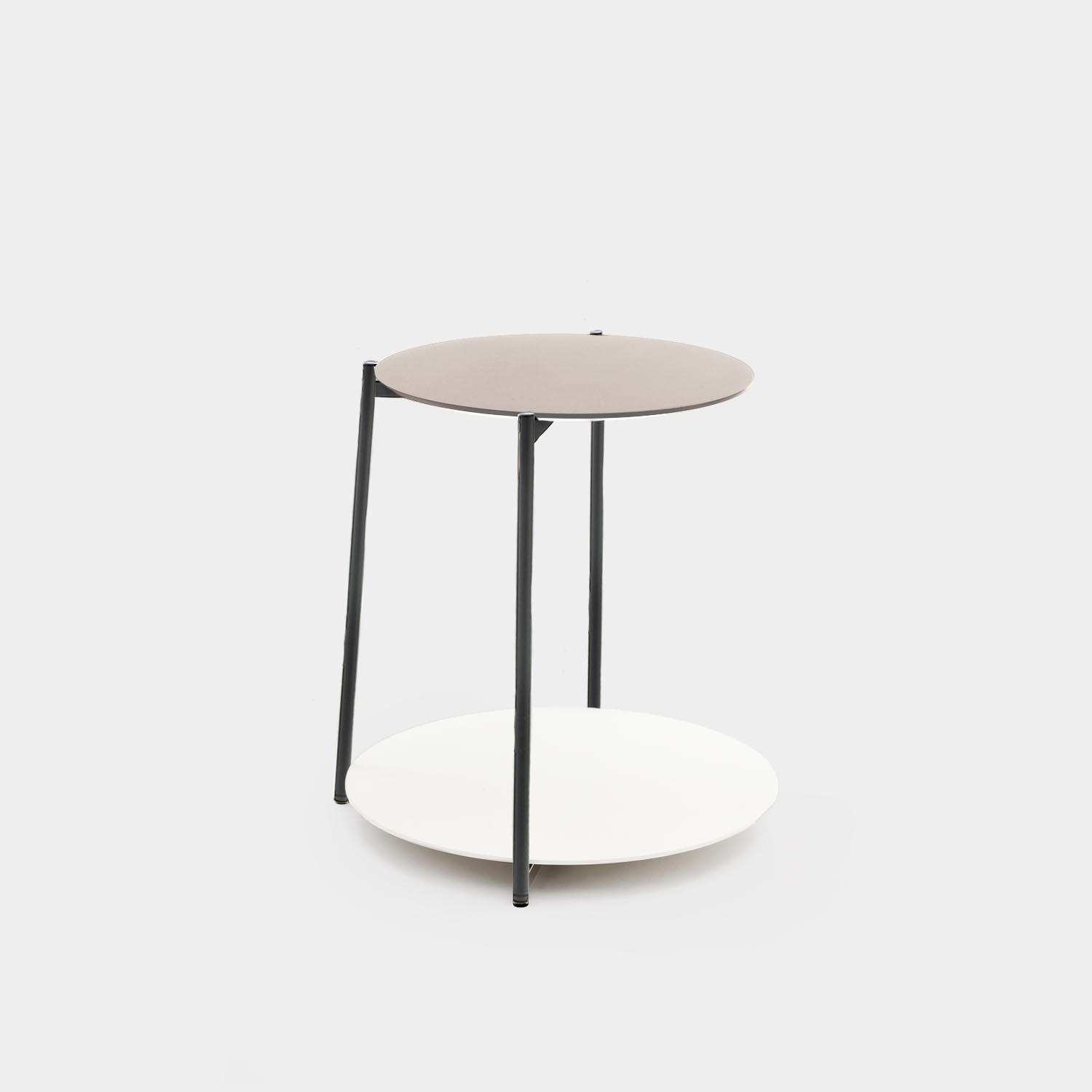 End Table SHIKA, Black Structure