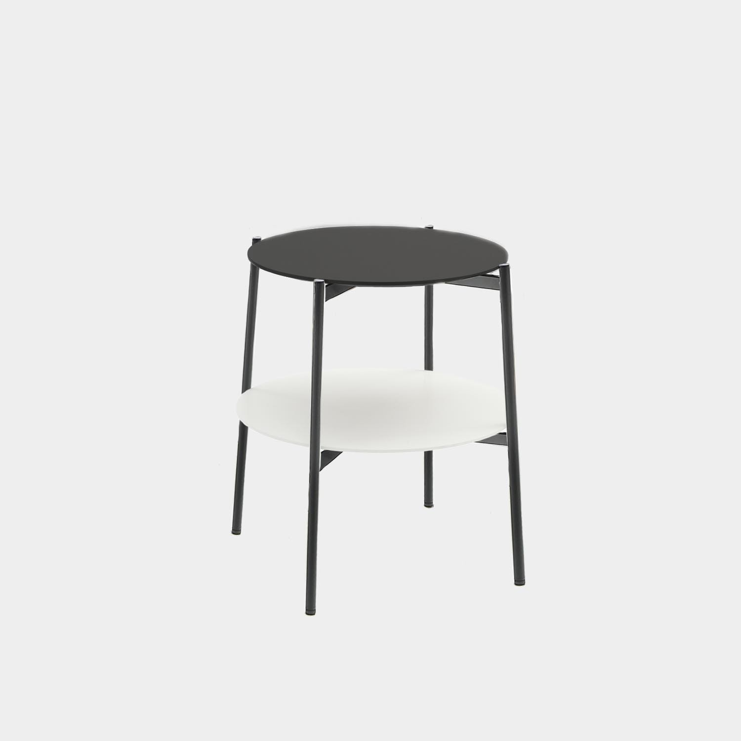 Side Table SHIKA, Black Structure