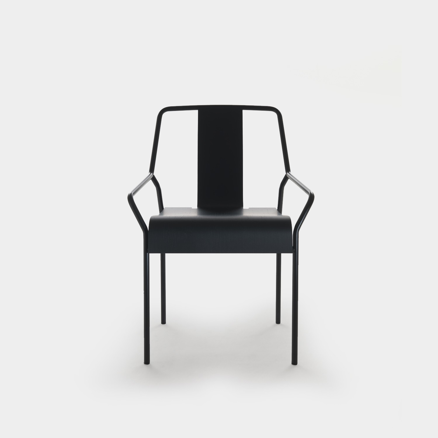 Chair DAO Black/Black Oak
