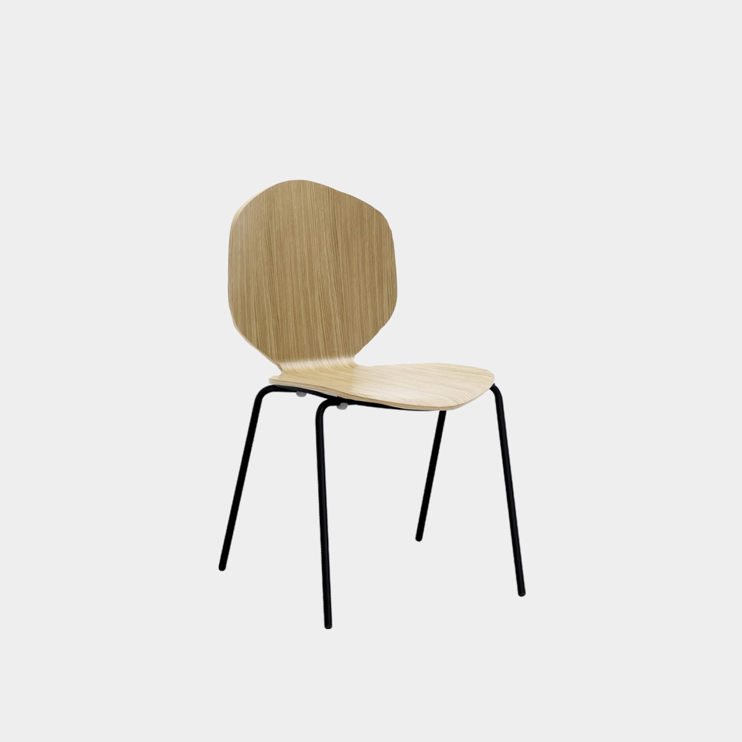 Chair Loulou, Natural Oak