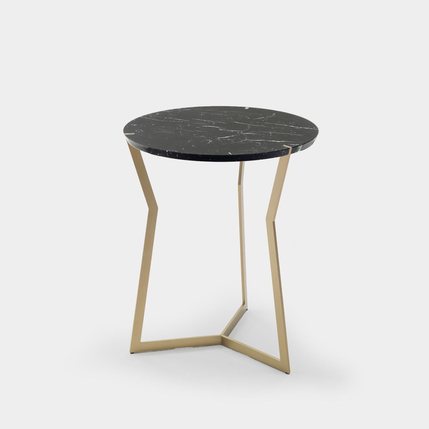 Side Table STAR, Marquina Marble