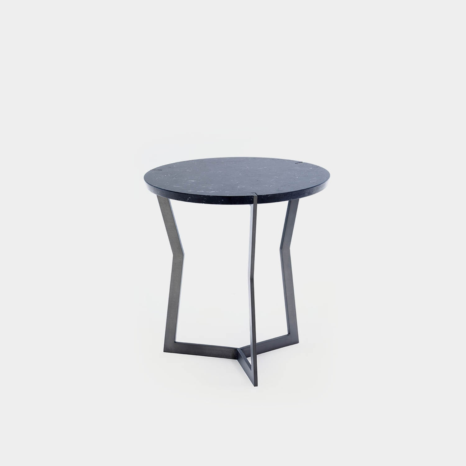 Side Table STAR, Small, Marquina Marble