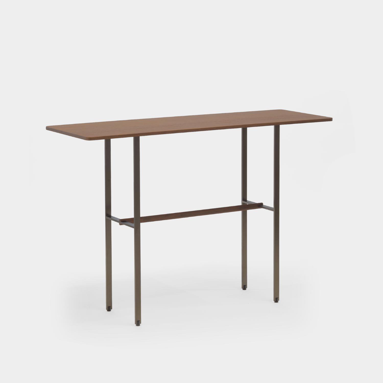Sisters Console Table, Wood Veneer