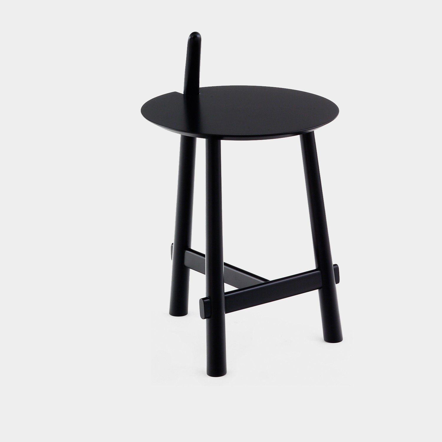 Side Table ALTAY, Black Legs