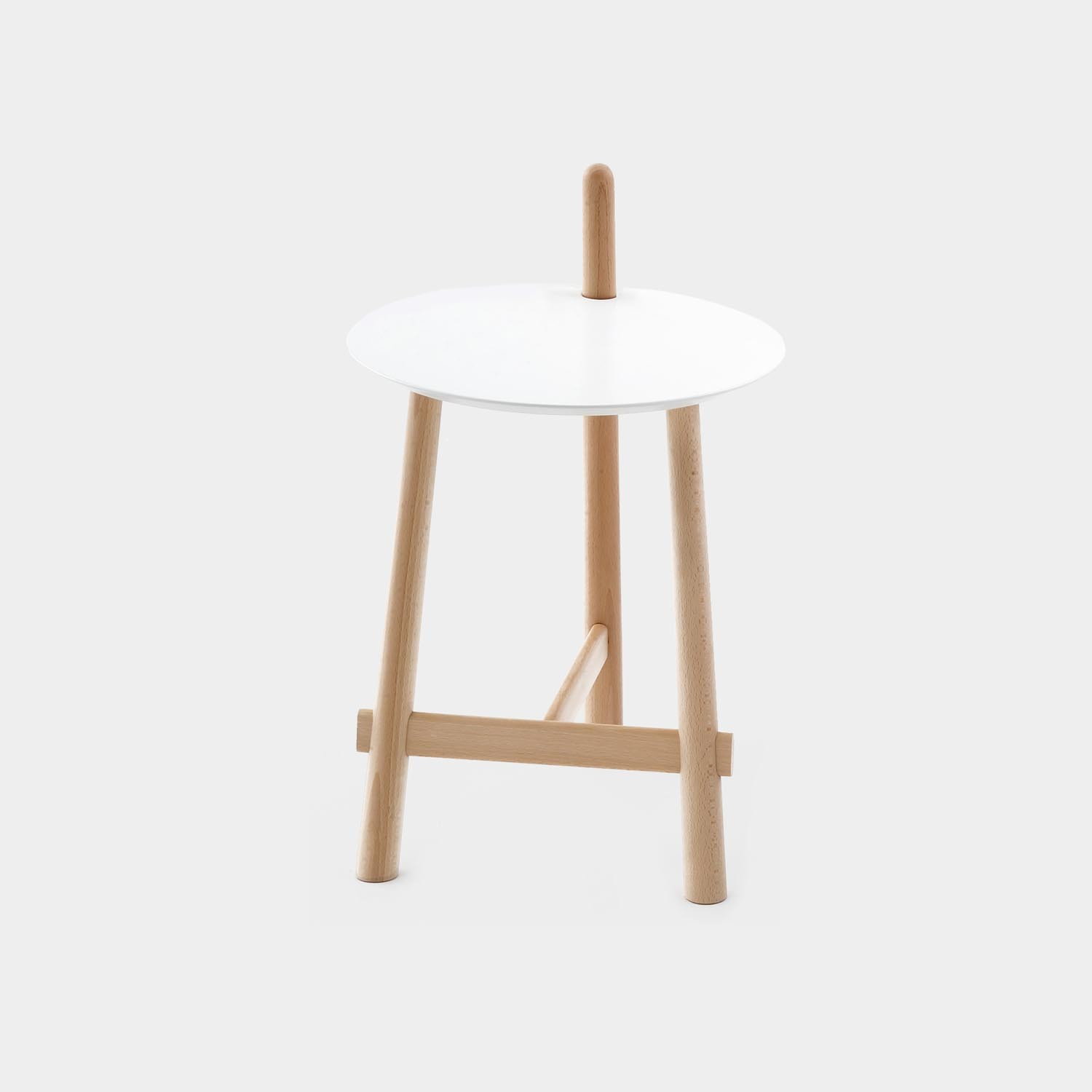 Side Table ALTAY, Natural Legs