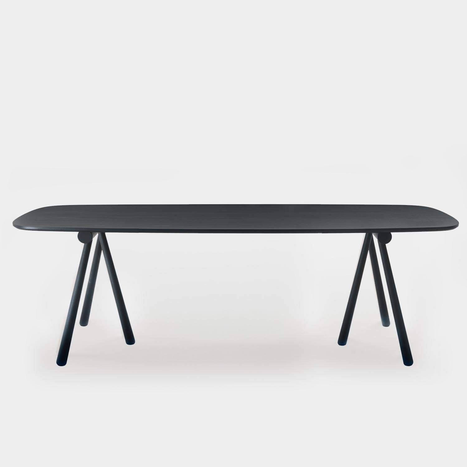 Dining Table ALTAY, Black Ash