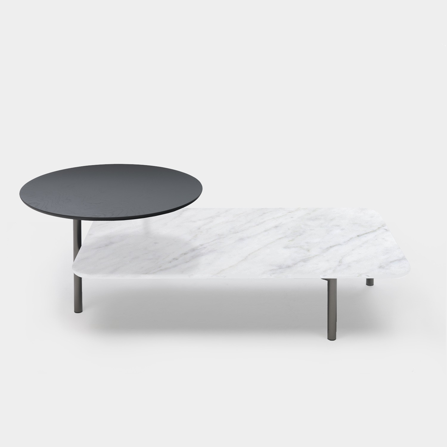 Coffee Table BITOP White Marble