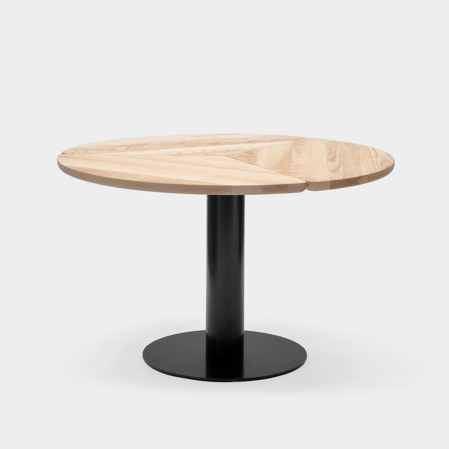 Klee Round Table, Natural Oak