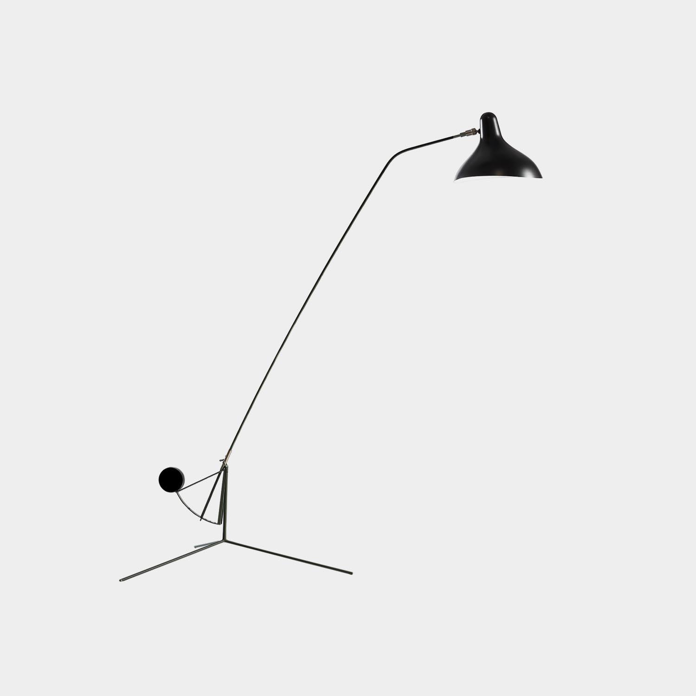 Mantis BS1 Floor Lamp, Black