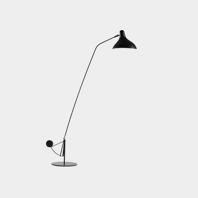 Mantis BS1 B Floor Lamp, Black