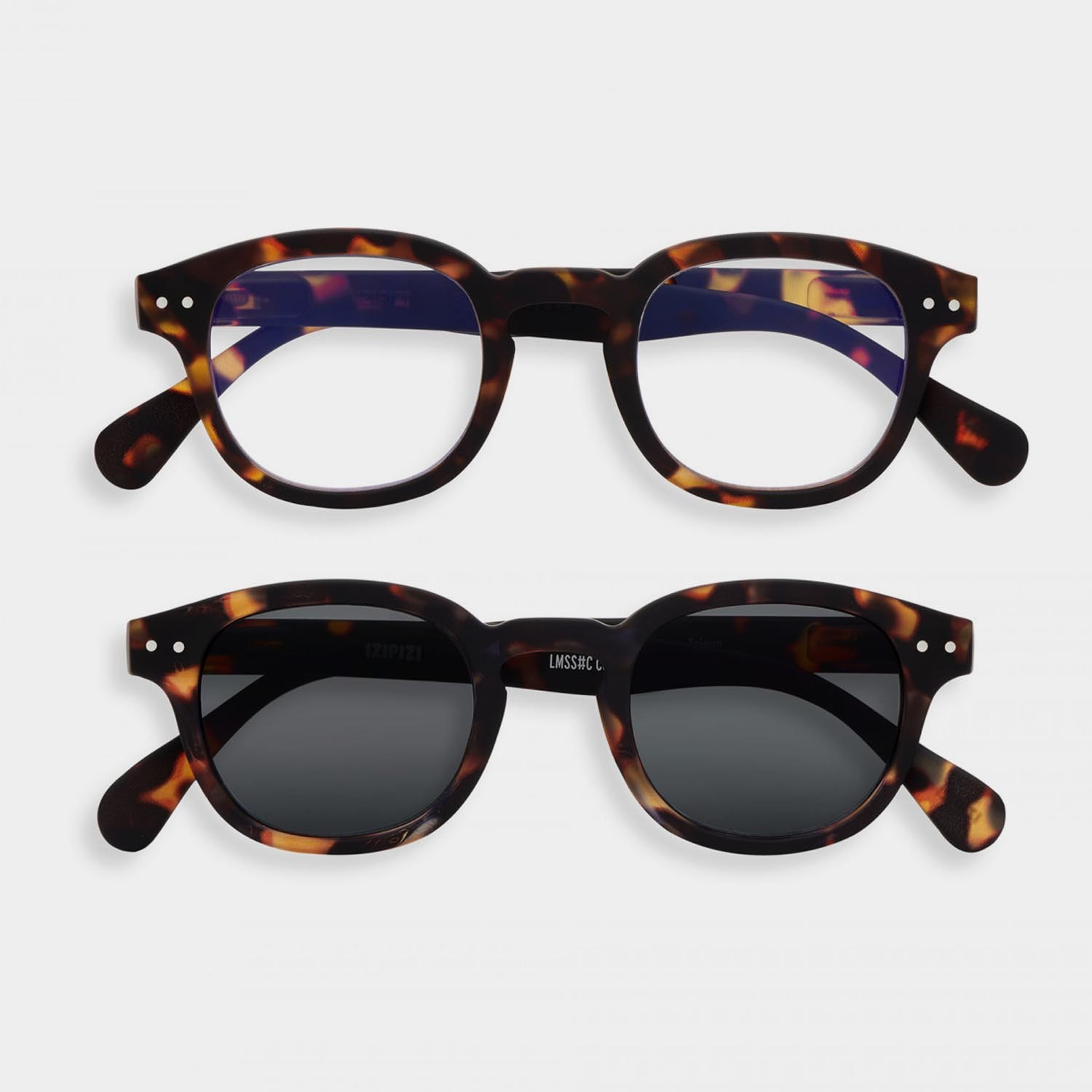 SCREEN and SUN Glasses Duo #C, Tortoise
