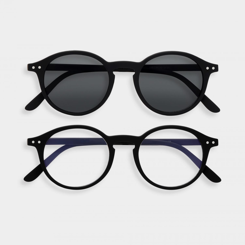 SCREEN and SUN Glasses Duo #D, Black