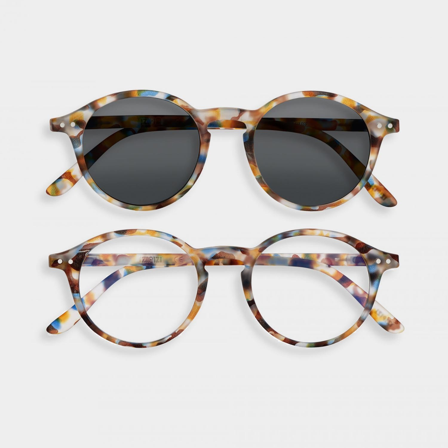 SCREEN and SUN Glasses Duo #D, Blue Tortoise