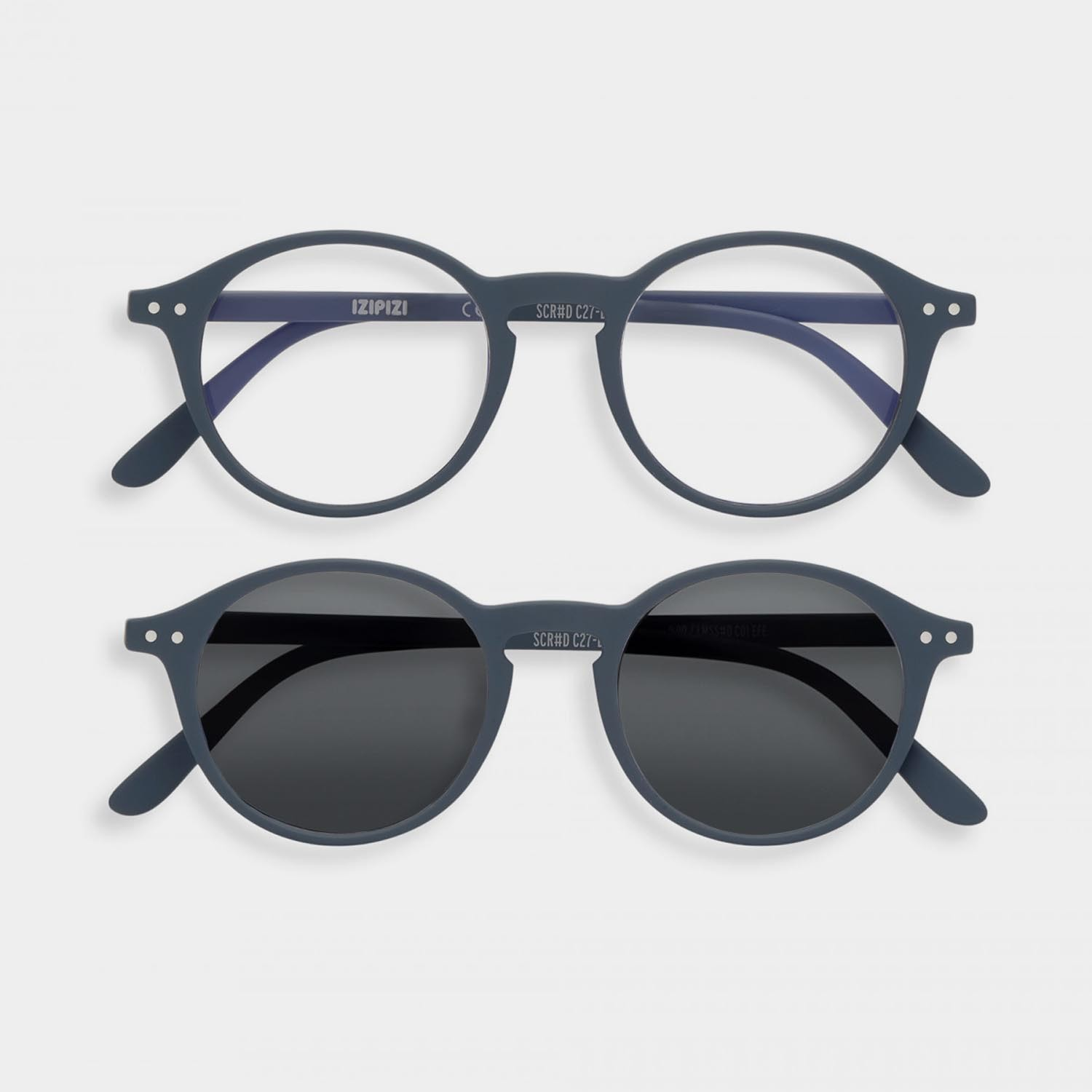 SCREEN and SUN Glasses Duo #D, Gray