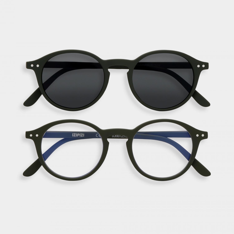 SCREEN and SUN Glasses Duo #D, Khaki
