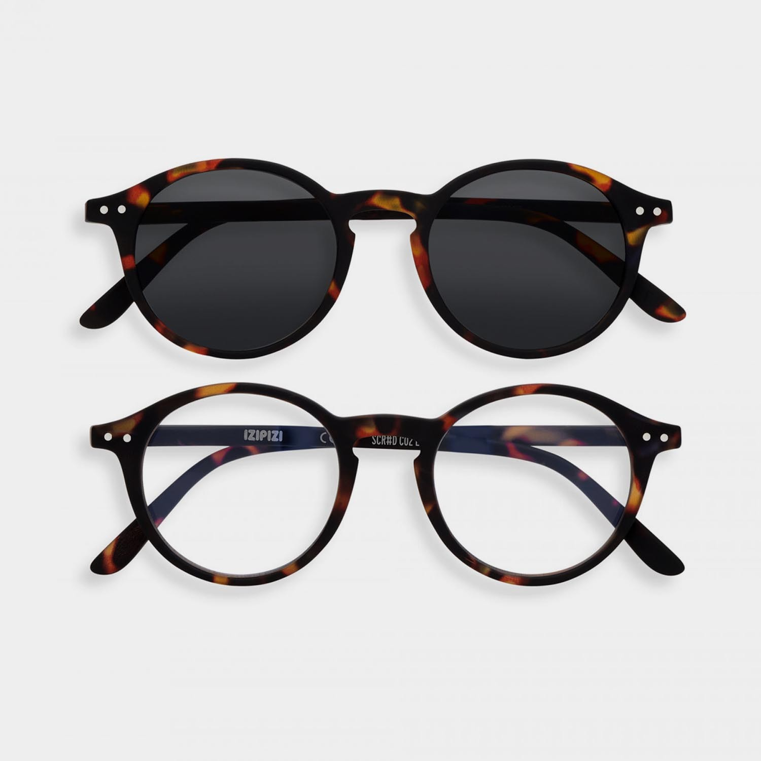 SCREEN and SUN Glasses Duo #D, Tortoise