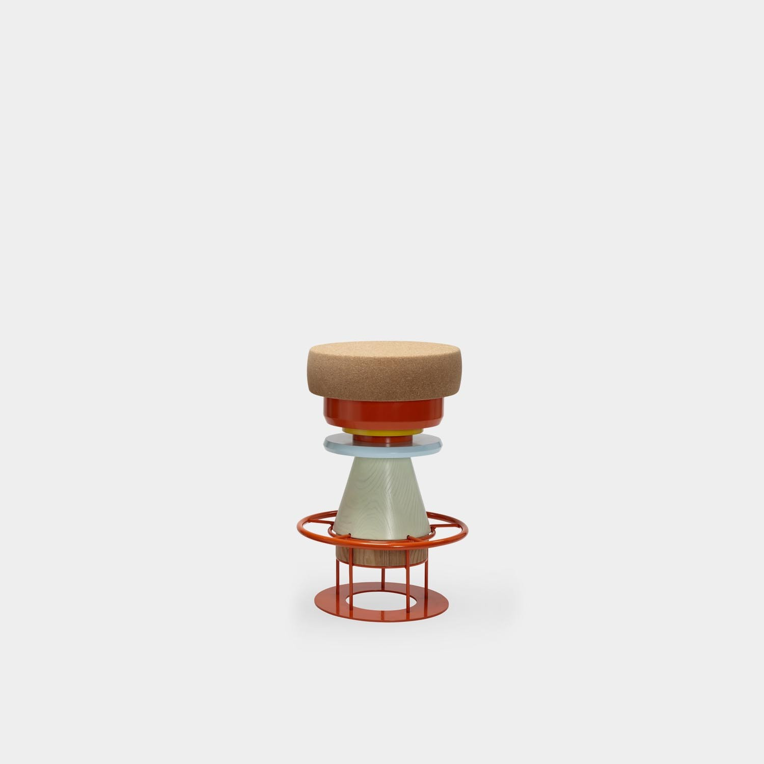 Tembo Barstool, Medium, Colors
