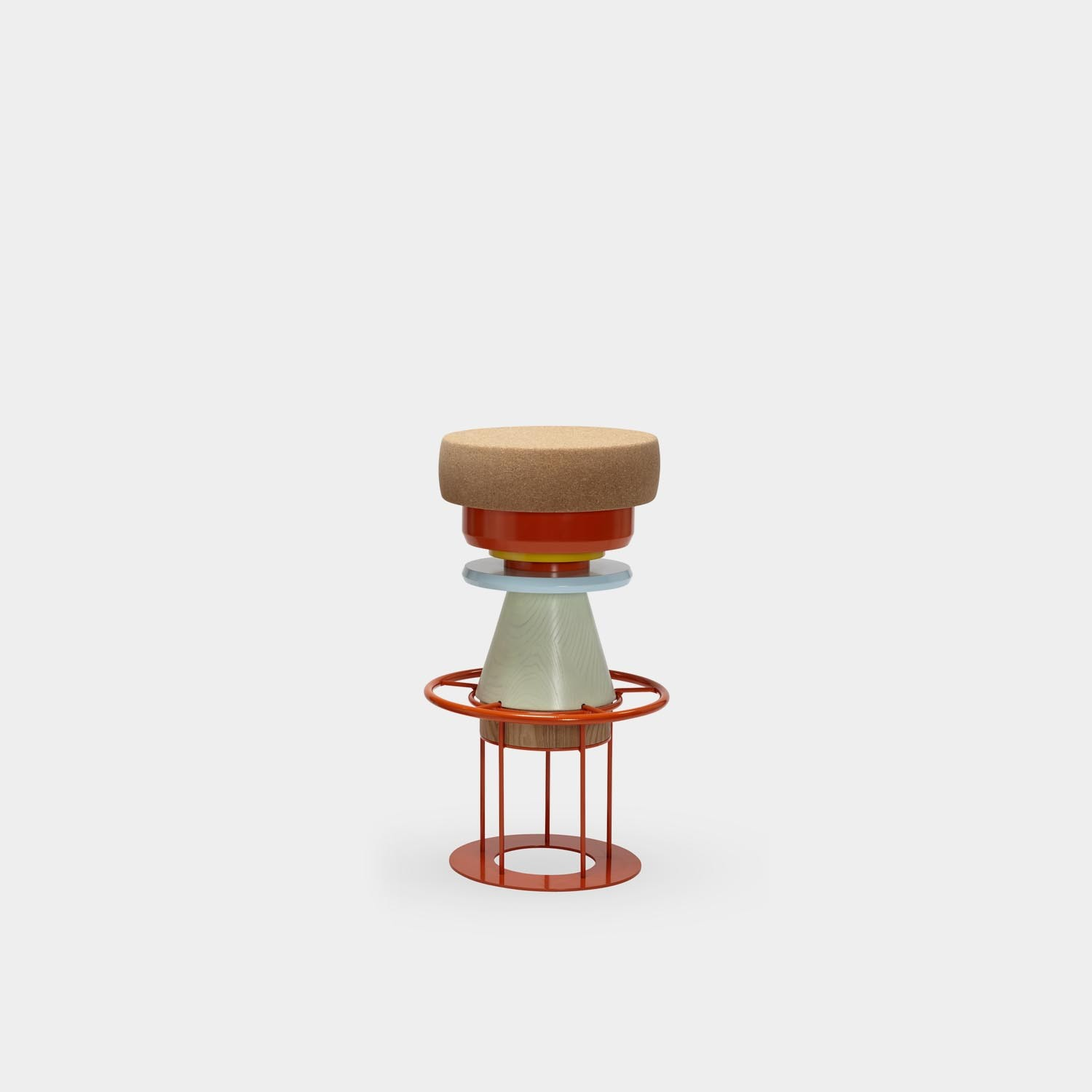 Tembo Barstool, High, Colors