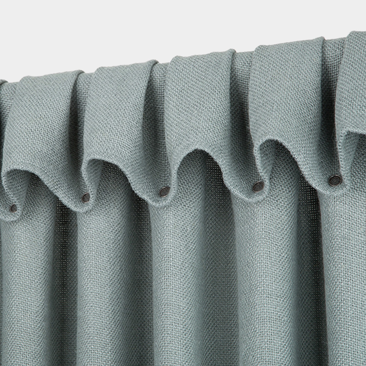 Thick weave Linen Curtain Mist