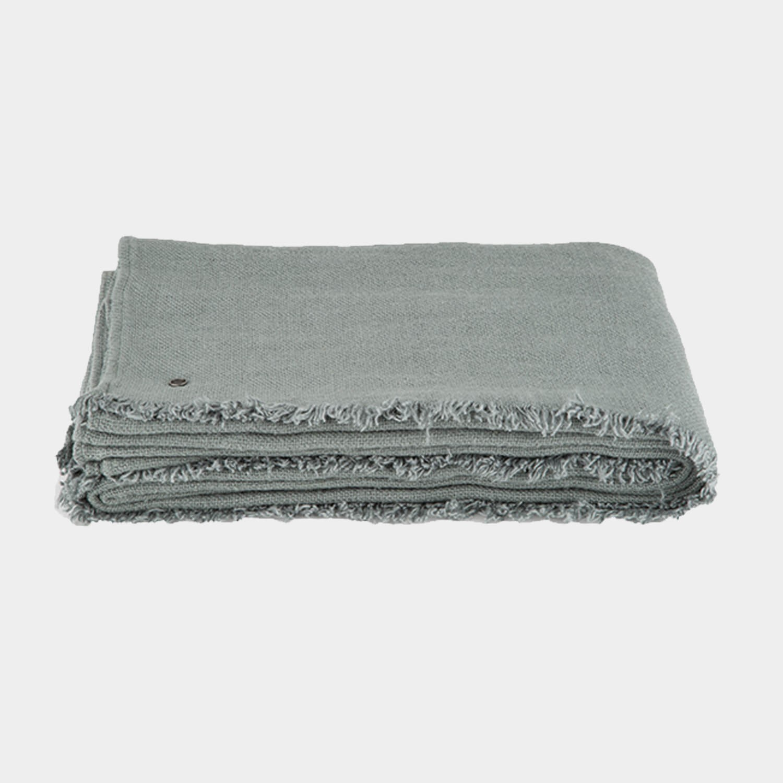 Rustic Linen Blanket Mist