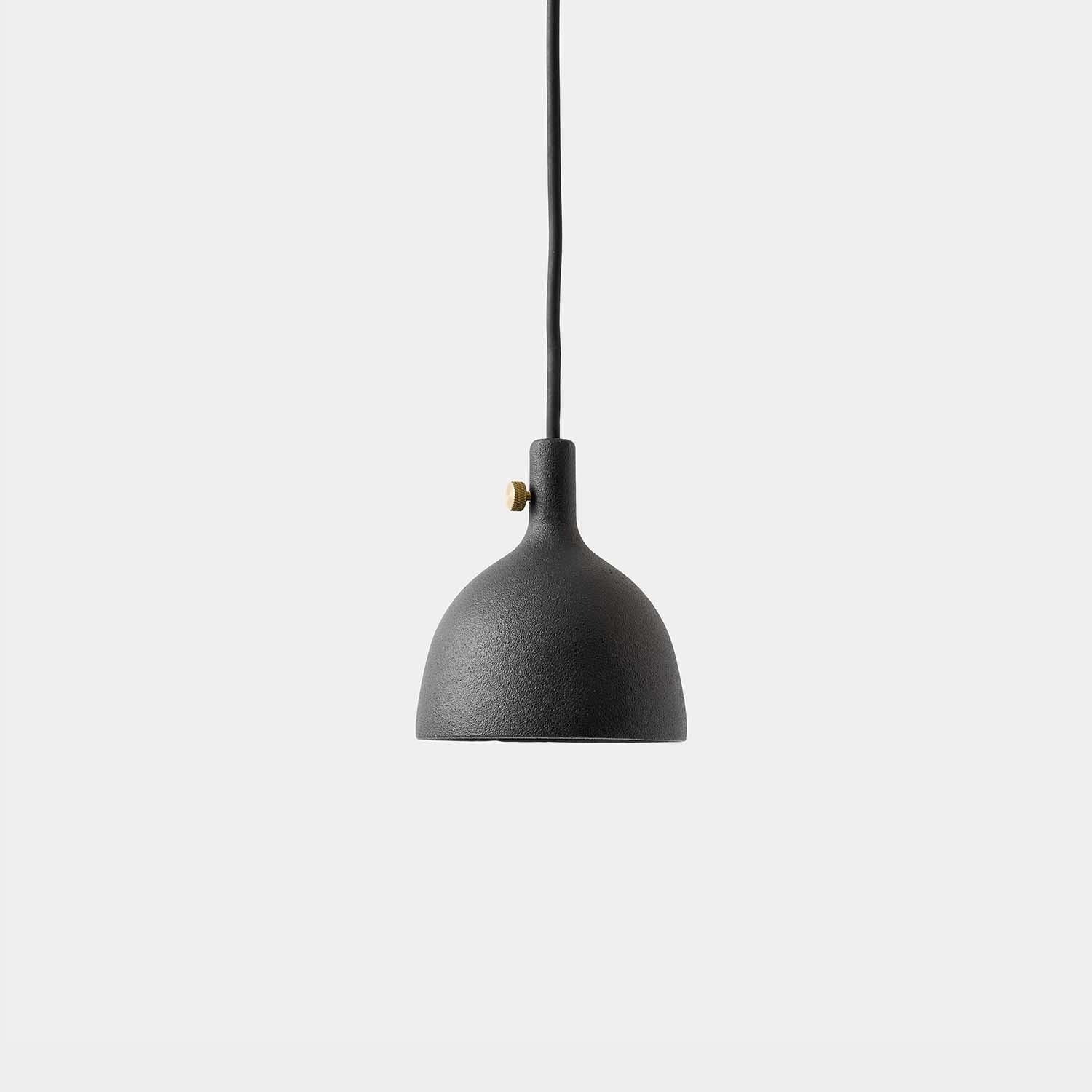 Cloche Pendant Cast, Black